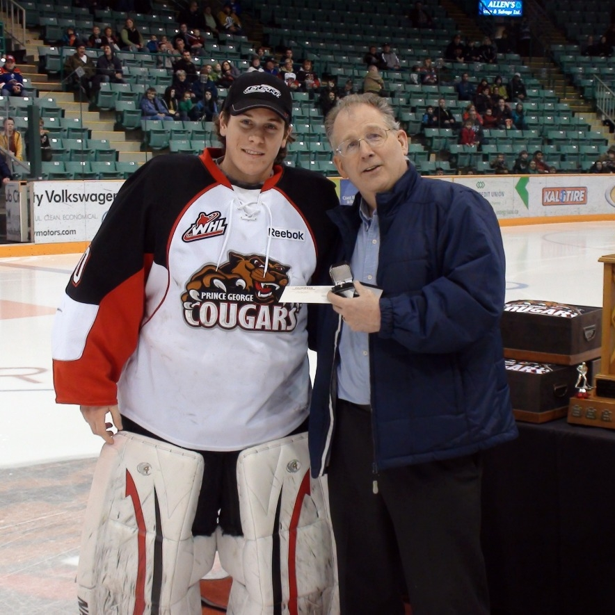 PG Cougars Player of the Year 2012