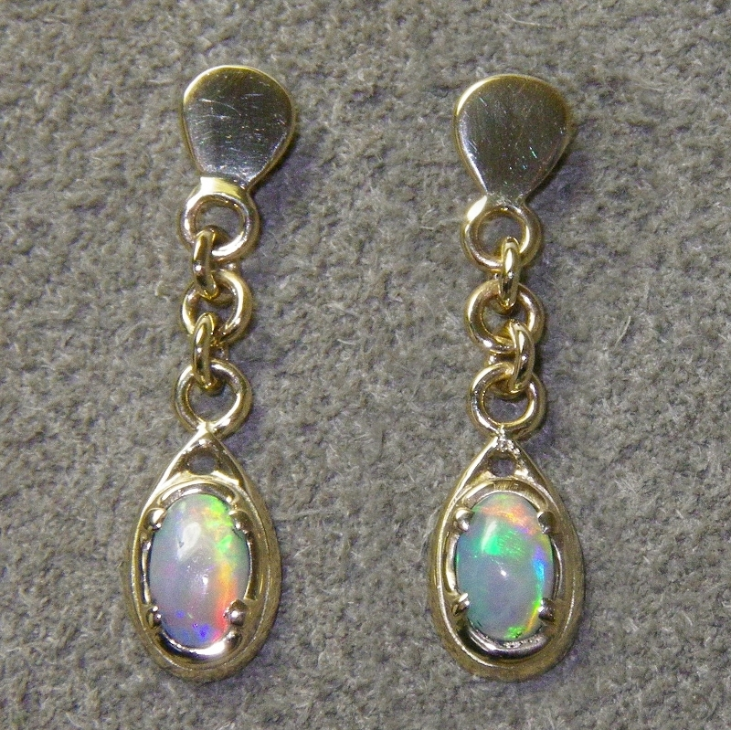 Evening Light - The Earrings