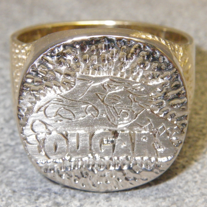 Cougars Player of the Year Ring 2014
